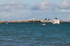 Mening van Ponta Verde Royalty-vrije Stock Afbeeldingen
