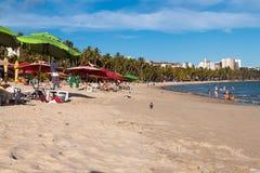 Mening van Ponta Verde stock fotografie