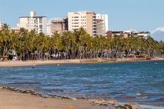 Mening van Ponta Verde Stock Afbeelding