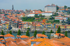 Mening van Porto Stock Fotografie