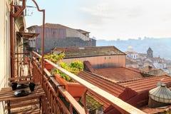 Mening van Porto Horizon van een balkon Porto, Portugal royalty-vrije stock afbeelding