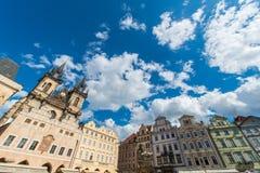 Mening van Praag Royalty-vrije Stock Foto's