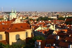 Mening van Praga Stock Afbeeldingen