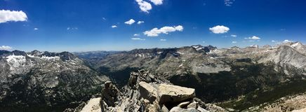 Mening van Proefknob peak Royalty-vrije Stock Foto's