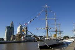 Mening van Puerto Madero Royalty-vrije Stock Afbeeldingen