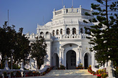 Mening van Raj Bhavan, Agartala, Tripura, India Royalty-vrije Stock Fotografie