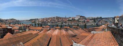 Mening van rivier Douro stock afbeelding