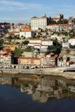 Mening van rivier Douro - Porto Royalty-vrije Stock Foto's