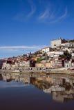 Mening van rivier Douro - Porto Stock Fotografie