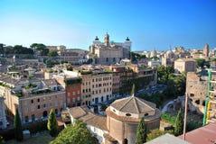 Mening van Rome Stock Foto's