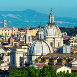Mening van Rome Royalty-vrije Stock Afbeeldingen