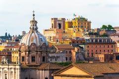 Mening van Rome Royalty-vrije Stock Foto