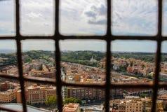 Mening van Rome van het Vatikaan royalty-vrije stock afbeeldingen