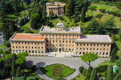 Mening van Rome van het Vatikaan stock foto's