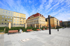 Mening van Royal Palace in Wroclaw/Polen stock afbeelding