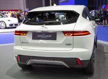 Mening van rug van Jaguar-e-Tempo royalty-vrije stock afbeeldingen