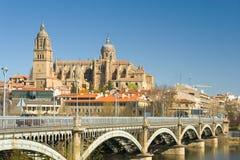 Mening van Salamanca Royalty-vrije Stock Foto's