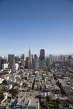 Mening van San Francisco royalty-vrije stock foto's