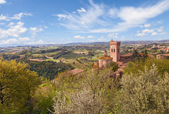 Mening van San Miniato, Pisa, Italië Stock Foto's