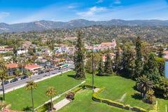 Mening van Santa Barbara stock afbeeldingen