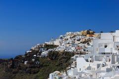 Mening van Santorini-eiland - Griekenland Stock Foto's
