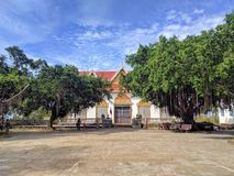 Mening van sihanoukvilleplatteland, Kambodja Stock Afbeeldingen