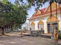 Mening van sihanoukvilleplatteland, Kambodja Stock Foto