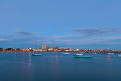 Mening van St Kilda voorstad van de pijler stock foto