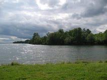 Mening van St. Lawrence rivier Stock Afbeeldingen