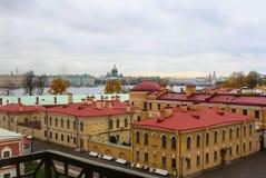 Mening van St. Petersburg stock afbeeldingen