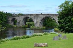 Mening van Stirling Bridge Stock Afbeeldingen