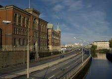 Mening van Stockholm Stock Foto