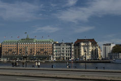 Mening van Stockholm Stock Afbeelding