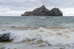 Mening van strand stock fotografie