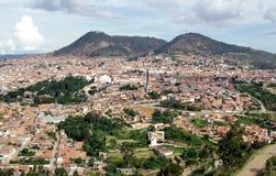 Mening van Sucre, Bolivië Stock Fotografie