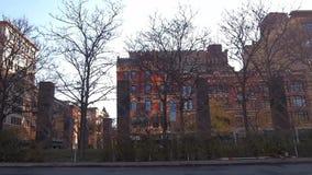 Mening van Syracuse, New York stock footage