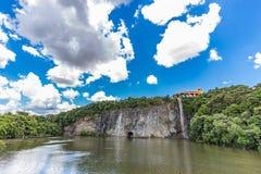 Mening van Tangua-Park CURITIBA, PARANA/BRAZIL royalty-vrije stock foto's