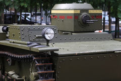 Mening van tank Stock Foto's