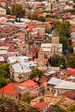 Mening van Tbilisi Royalty-vrije Stock Foto's
