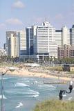 Mening van Tel Aviv stock afbeeldingen