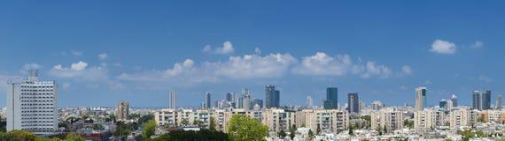 Mening van Tel Aviv. Stock Afbeeldingen