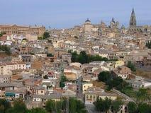Mening van Toledo royalty-vrije stock afbeeldingen