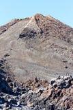 Mening van top van MT Teide, Tenerife, Spanje Stock Fotografie