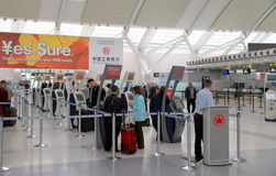 Mening van Toronto Pearson Airport Royalty-vrije Stock Foto's