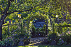 Mening van tuinen 3 Royalty-vrije Stock Afbeeldingen