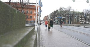 Mening van Turku Finland stock videobeelden