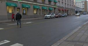 Mening van Turku Finland stock video