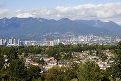 Mening van Vancouver Stock Afbeeldingen