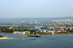 Mening van Varna Stock Foto's