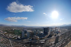Mening van Vegas stock afbeelding
